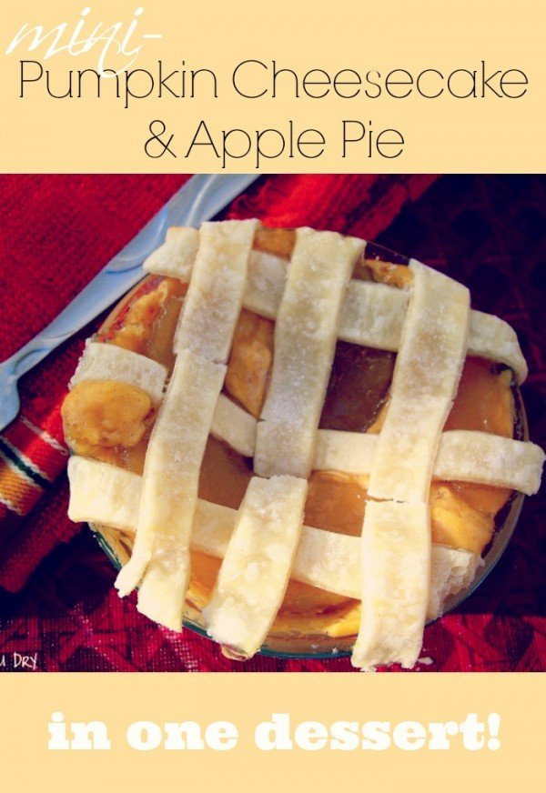 Pumpkin Cheesecake Apple Pie