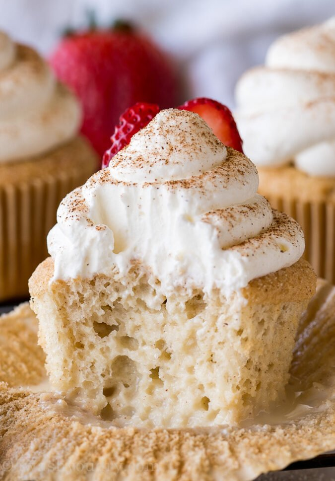 Tres Leches Cupcakes I Wash You Dry