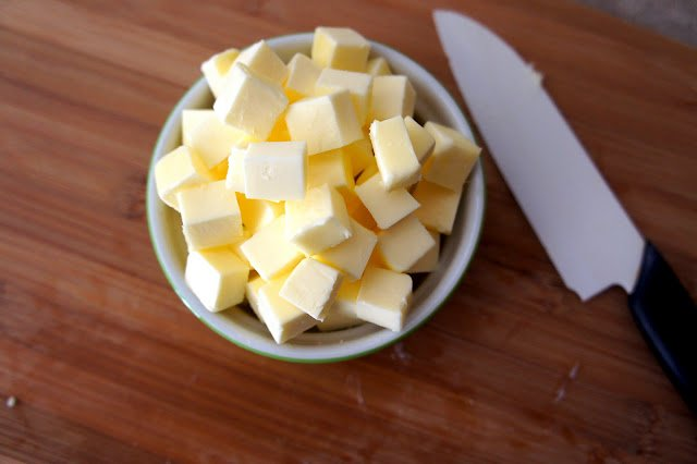 Keep your butter really cold when making pie crust for a super flaky texture.