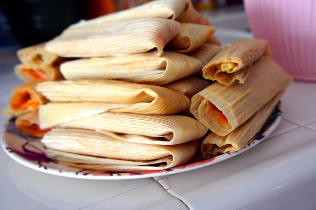 Chicken and Green Chile Tamales