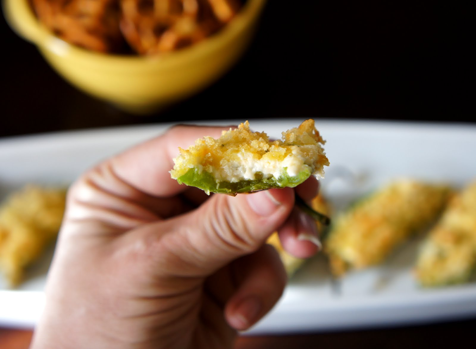 Cheesy Baked Jalapeno Poppers - I Wash... You Dry