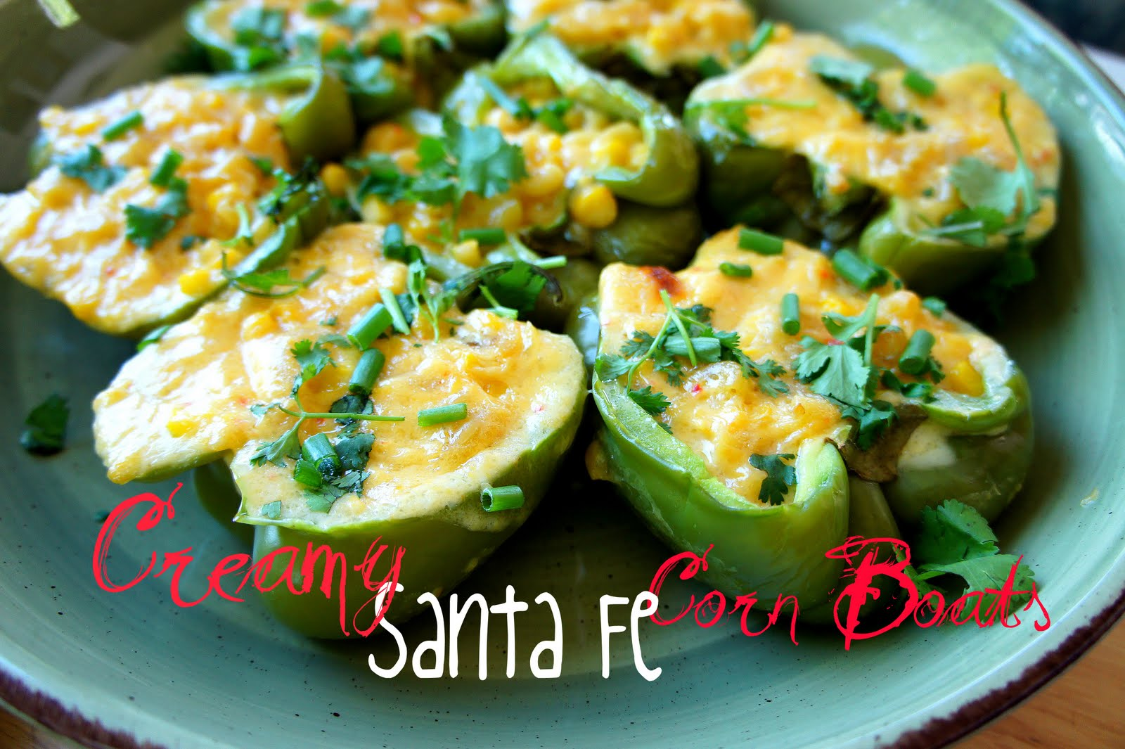 Creamy santa fe corn boats i wash you dry for Easy cold side dishes for christmas