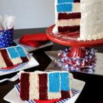 Patriotic All American Cake