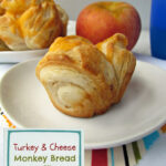 Turkey & Cheese Monkey Bread Muffins