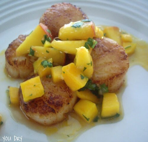Chipotle Seared Scallops