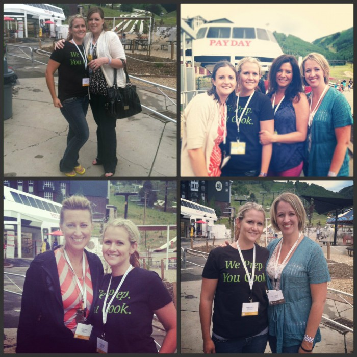 Pictures with friends at the EVO Conference in Park City, Utah