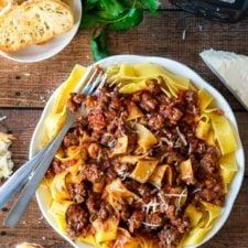 Authentic Bolognese Sauce is an Easy Spaghetti Recipe!