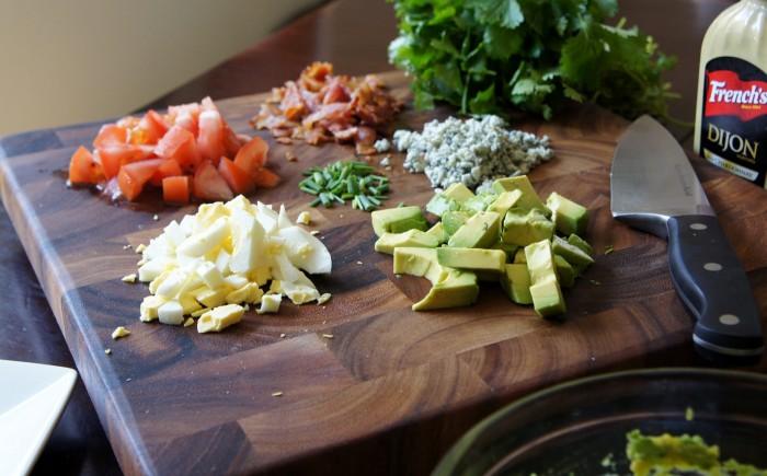 Ingredients needed in order to make Cobbocado Guacamole