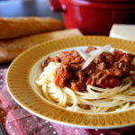 Hearty Crock Pot Pasta Bolognese Sauce