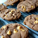 German Chocolate Peanut Butter Cake Batter Cookies