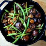 Mushroom Chicken with Green Beans