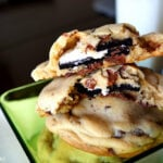 Oreo Stuffed Chocolate Chip Cookies