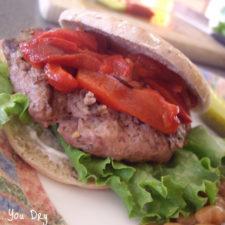 Spicy Diablo Turkey Burger