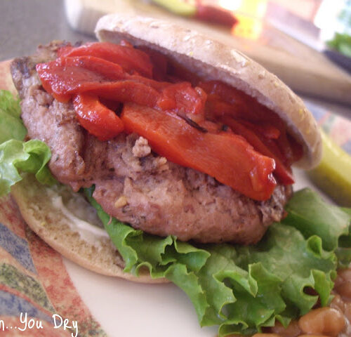 Spicy Diablo Turkey Burger