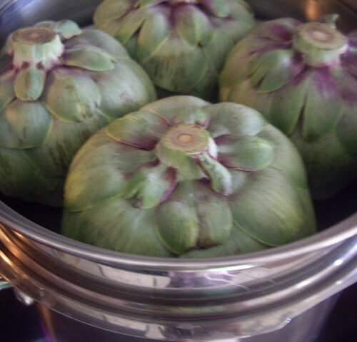 Steam An Artichoke