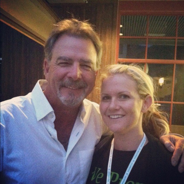 Bill Engvall and Shawn from I Wash You Dry in a picture together at the EVO Conference in Park City, Utah