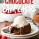 This decadent Chocolate Lava Cake Recipe is just 5 simple ingredients, ready in about 25 minutes and makes the most romantic dessert ever!