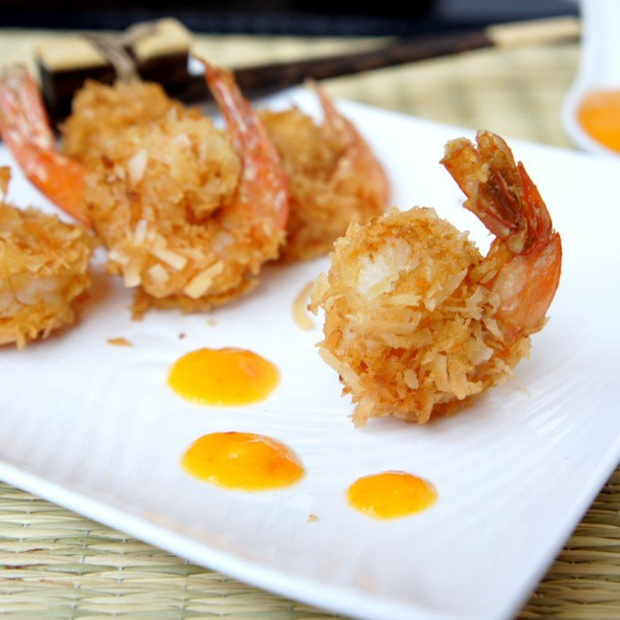These Curried Coconut Fried Shrimp are bursting with nutty flavor and spice.