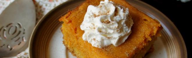 Pumpkin Gooey Cake