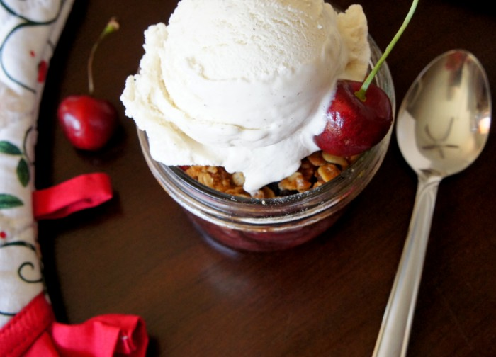 ... Chocolate Malt Brownie Parfaits from A Spicy Perspective along for the