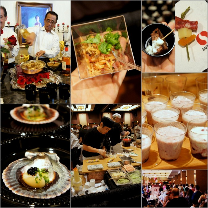 A grid of pictures from attending Phoenix Cooks in Scottsdale, Arizona