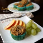 Gluten Free Sweet Potato Muffins (using coconut flour)