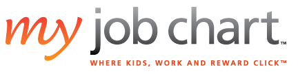 Logo, My Job Chart - where kids, work, reward click