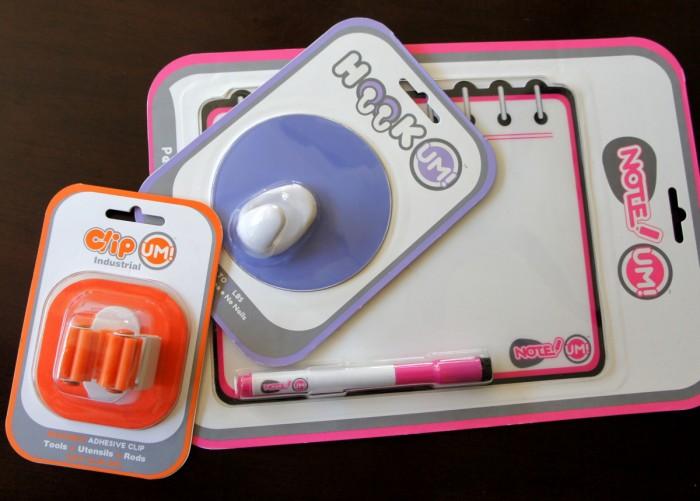 A close up UM Brands items for stocking stuffers