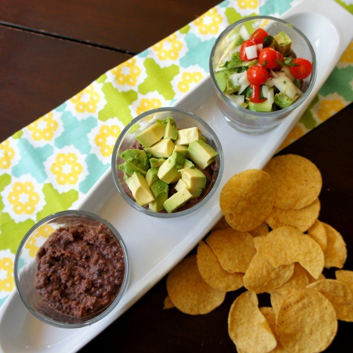 I love this 5 ingredient Black Bean Dip!