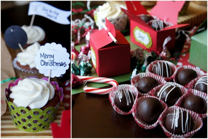 Christmas designed food gift packaging ideas
