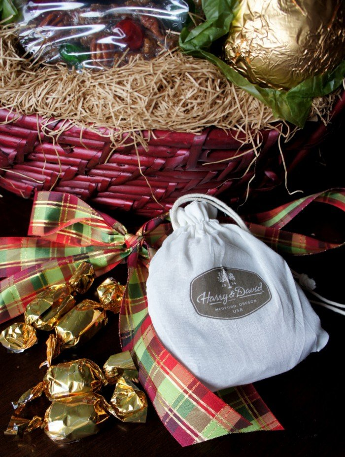 Displaying more contents from a Harry & David gift basket