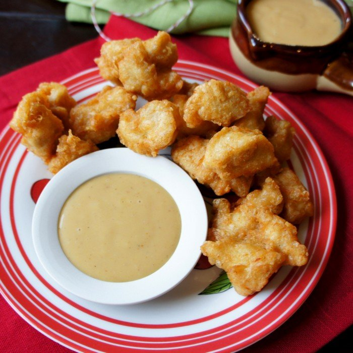 Crispy Chicken Nuggets with Chick-fil-a Sauce - I Wash... You Dry