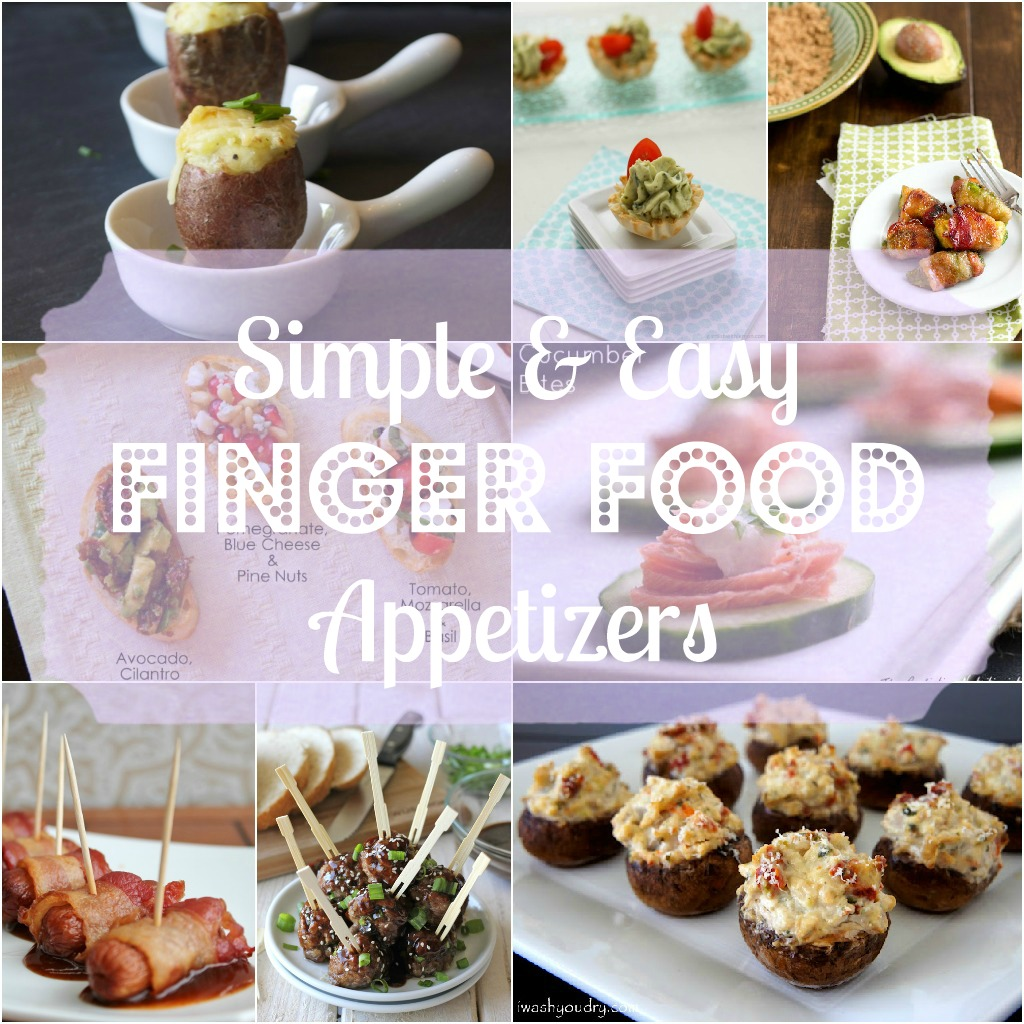 Party Finger Food Appetizers