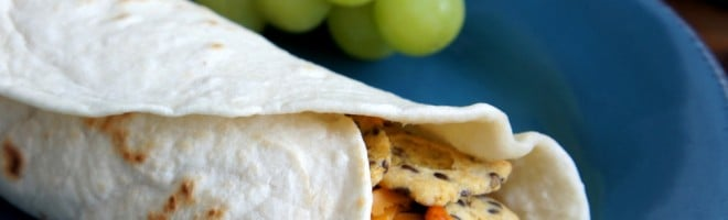 Chili Cheese Wraps