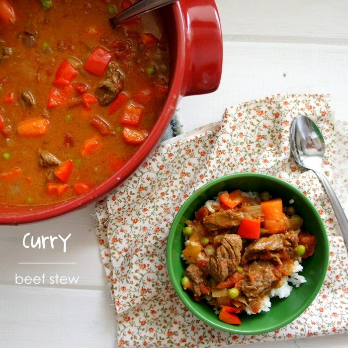Curry Beef Stew - I Wash You Dry