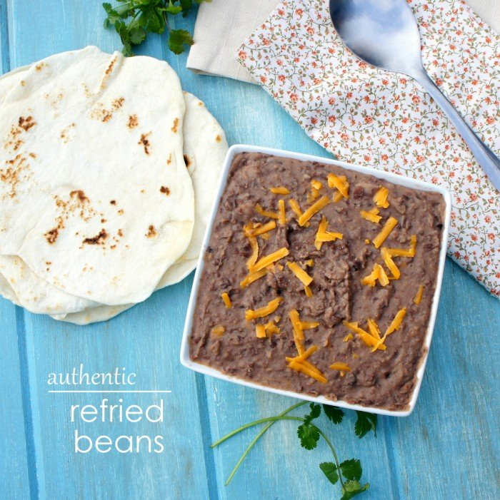 Authentic Refried Beans Recipe