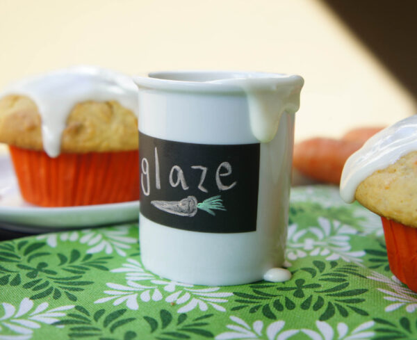Cream Cheese Glaze for Carrot Cake Muffins