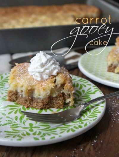 Carrot Gooey Cake