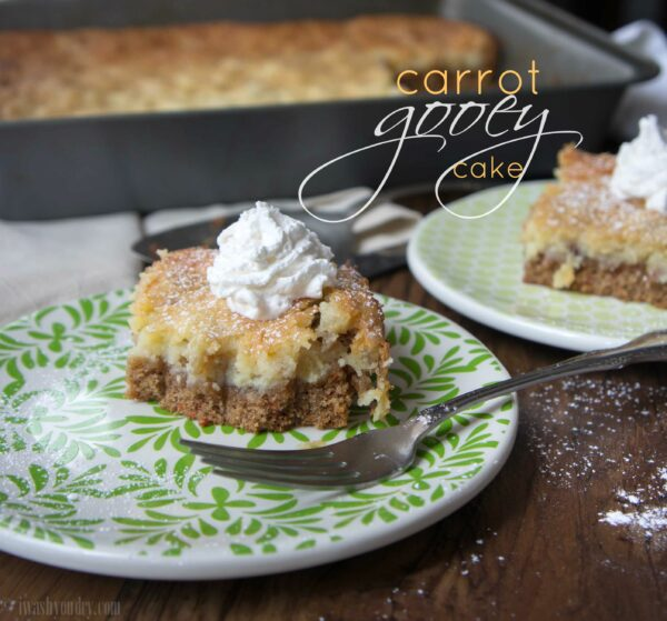 Carrot Gooey Cake