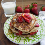 Strawberry Greek Yogurt Pancakes