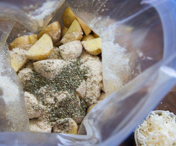 Parmesan Roasted Potatoes
