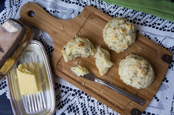 Quick Parmesan and Herb Biscuits