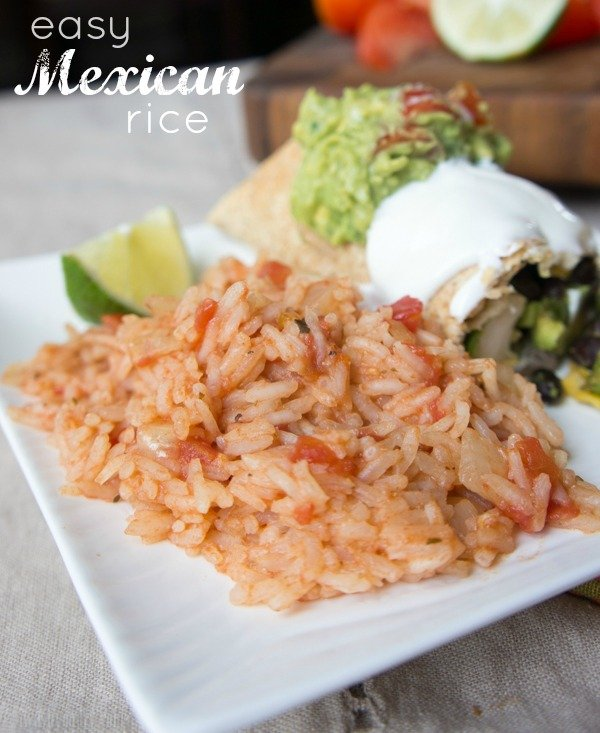 Easy Mexican Rice - I Wash You Dry