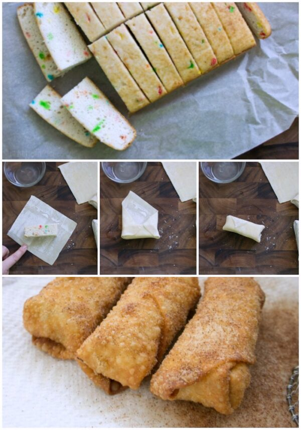 Egg Roll Cakes