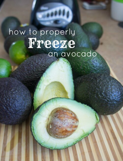 How to Properly Freeze an Avocado