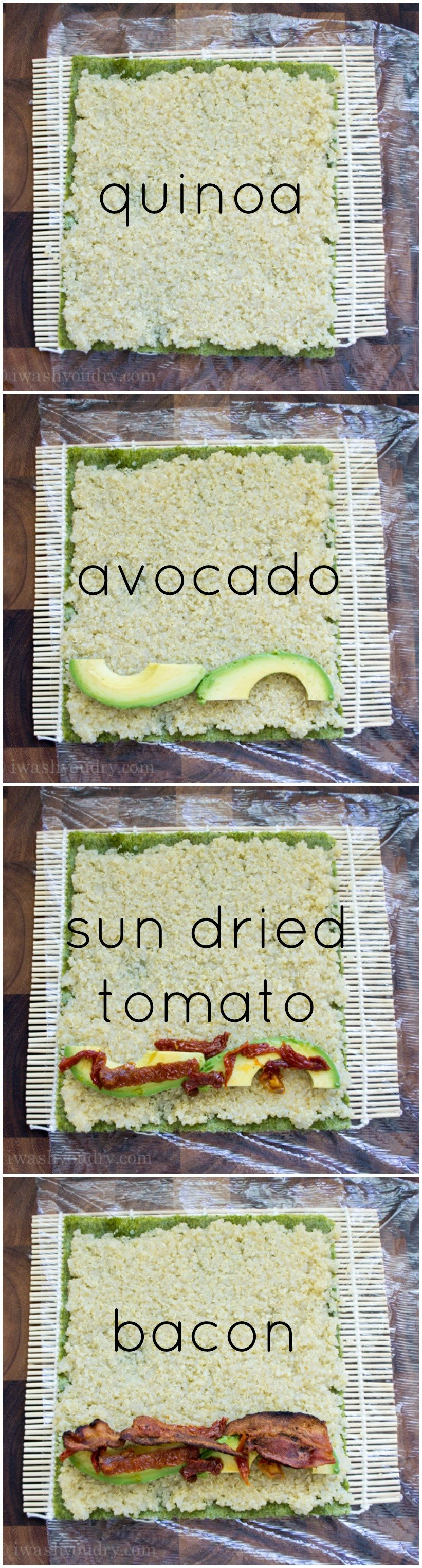 Avocado Sushi Filling
