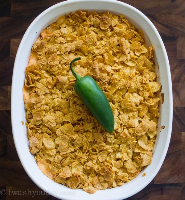 Jalapeño Popper Potato Casserole