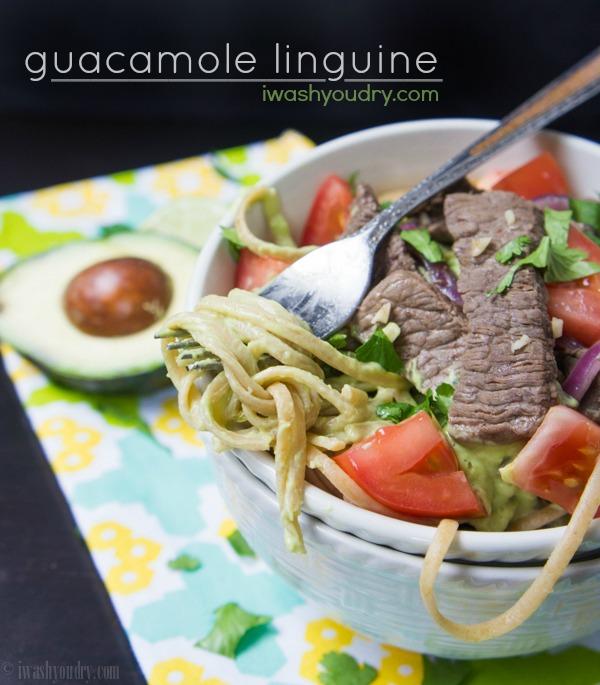 Guacamole Linguine