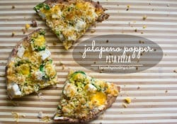 Jalapeño Popper Pita Pizza