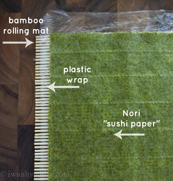 How to Roll your own Sushi!